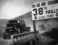 """The Korean War began in 1950: we rushed in to """"save"""" Korea from the communists: the country is still divided and 28,000 U.S. troops are still deployed there, 64 years later."""