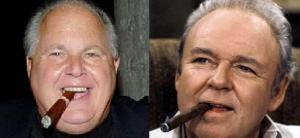 rush limbaugh archie bunker