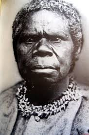 Truganini ca. 1812-1875 Her life and image have been exploited, similar to freaks in a carnival or the head of a trophy animal hung on the wall.