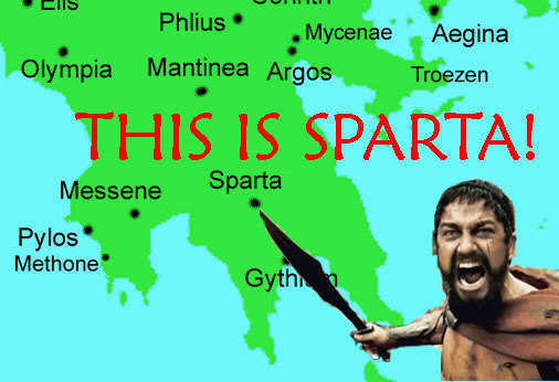 Sparta was an experiment in human culture too outrageous to exist - and it did exist.