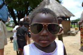 "Luckily Jesus invented sunglasses for those African days that are ""too sunny"""