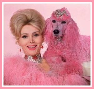 Who my mother wanted me to be: Zsa Zsa Gabor. No wonder I'm bipolar!