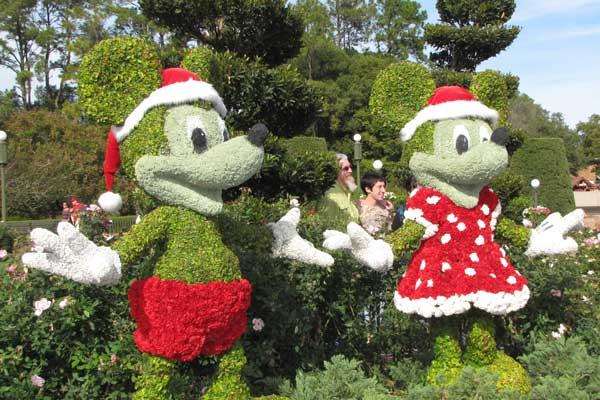 mickey-minnie-topiary