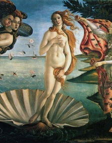 "The pagan goddess of love: Sandro Boticelli's ""Birth of Venus"" remains, after 500 years, an awestruck view of the female form."