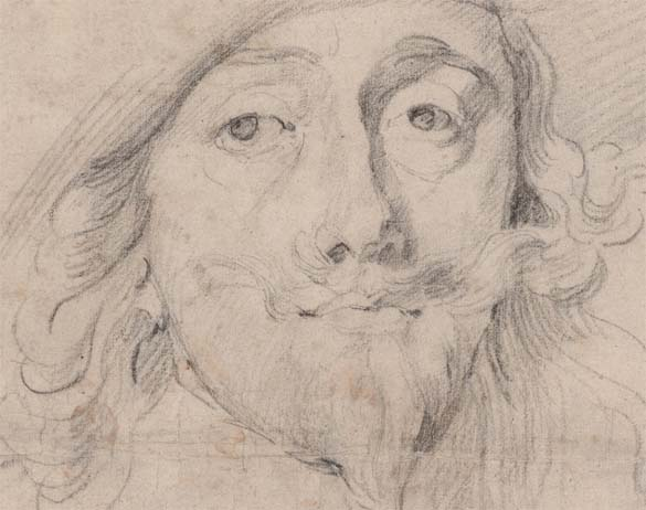 Study for a painting of Charles 1 - van Dyck