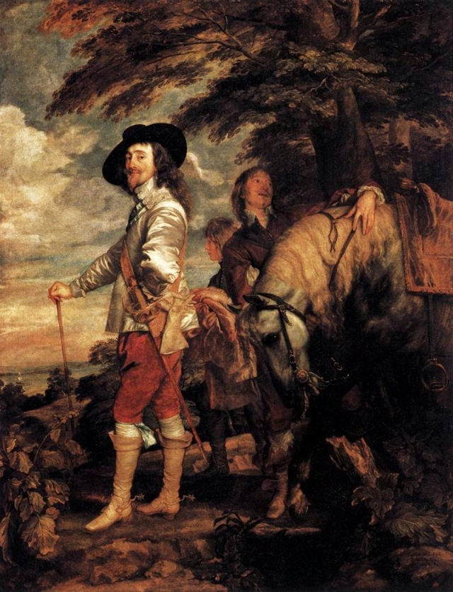 charles1 and horse