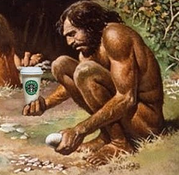 did-cavemen-drink-coffee