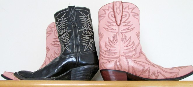 Home is where I keep my cowboy boots.