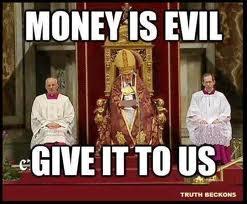 Church-says-money-is-evil