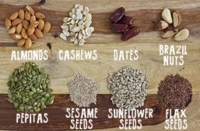 Supposedly sources of magnesium