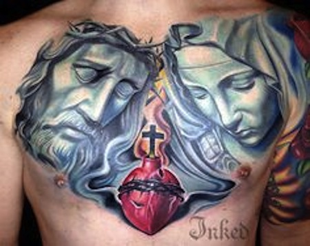 Jesus-and-Mary-by-Josh-Hagan-Las-Vegas-Nv-USA-religious-tattoos