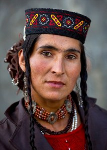 Tajik Woman, Xinjiang Uyghur Autonomous Region, China