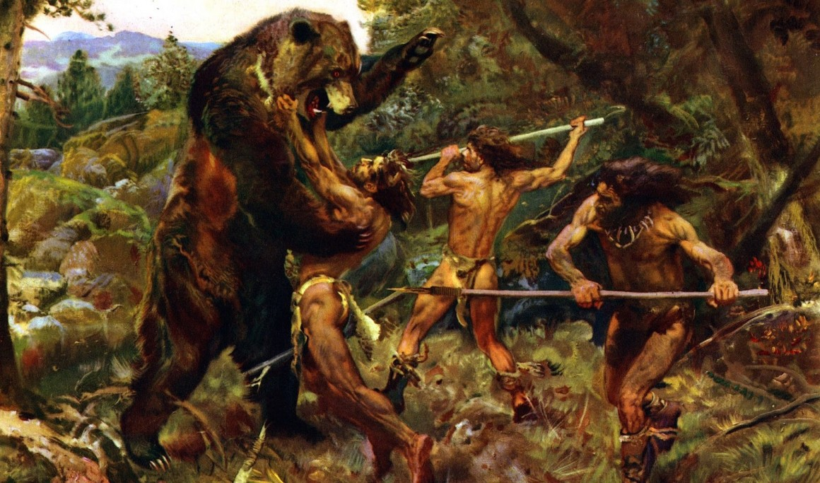 """Run up to that massive bear, grab it by the """"face"""" … and then what? Stupid  hunting ideas by neurotypicals."""